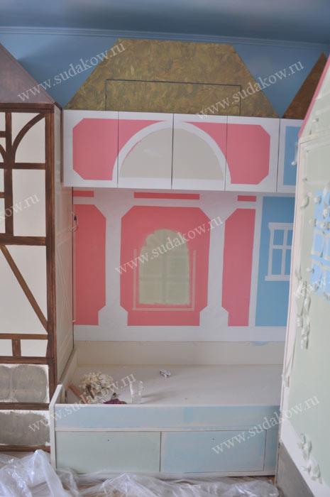 фото росписи мебели процесс работы