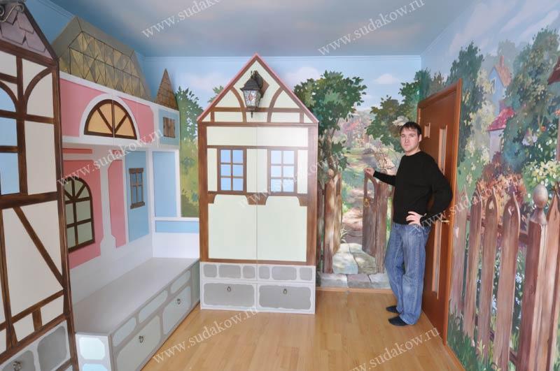 художник по росписи детской мебели судаков сергей
