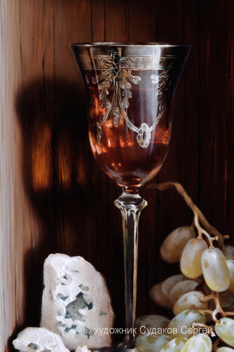 Декор из винограда