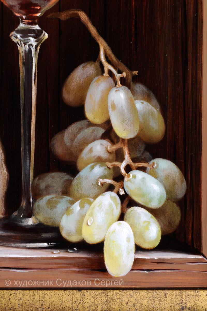 Интерьер с виноградом