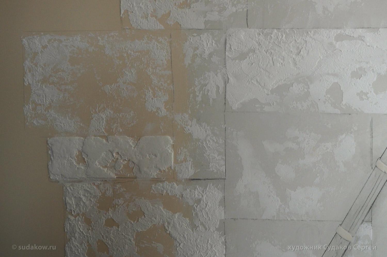 акриловая штукатурка в росписи стен
