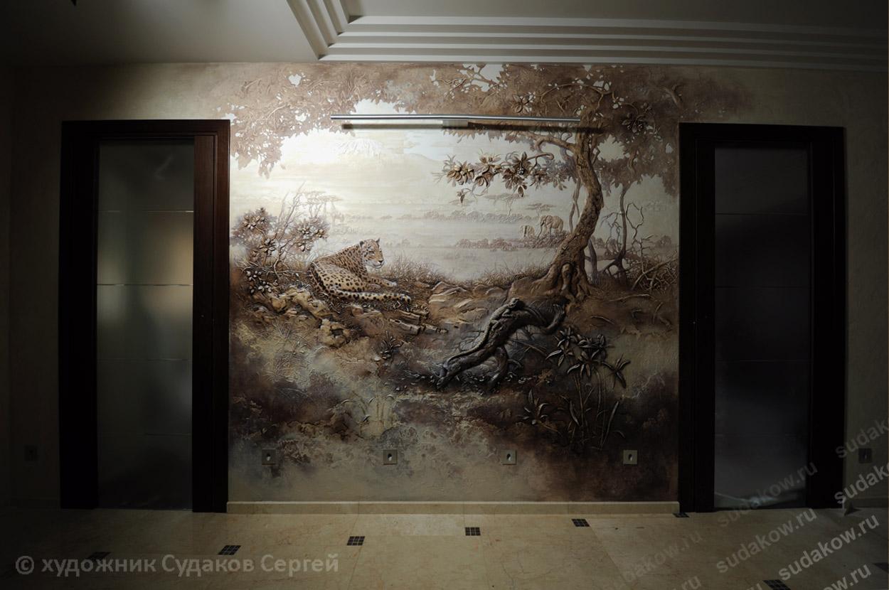 Барельефы на стене своими руками фото