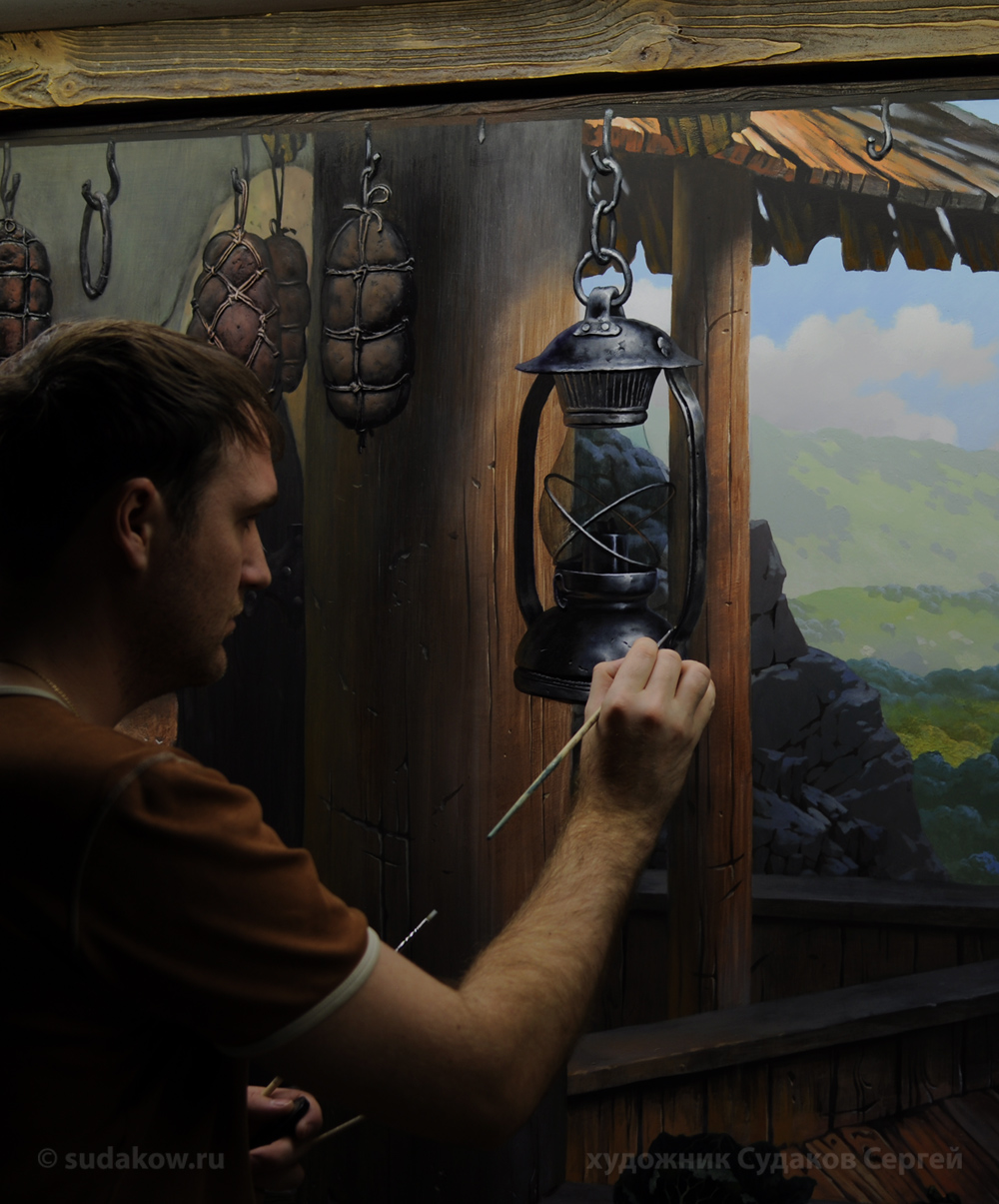 Сайт сергея судакова по росписи стен