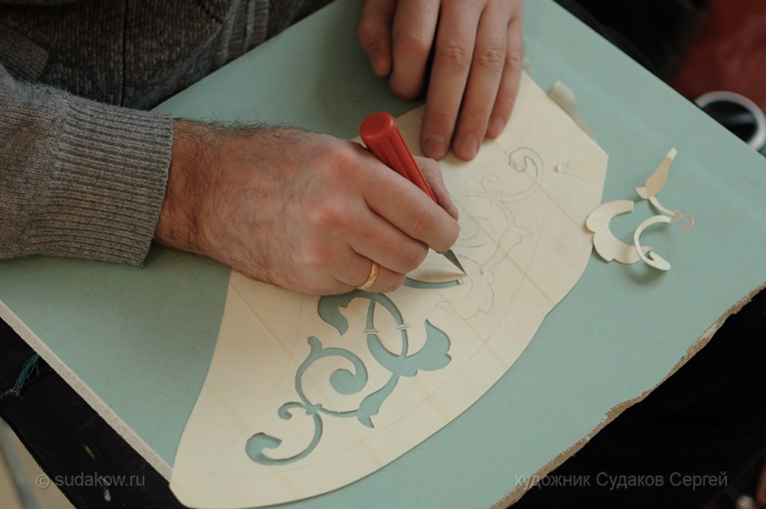 Изготовление трафаретов своими руками фото
