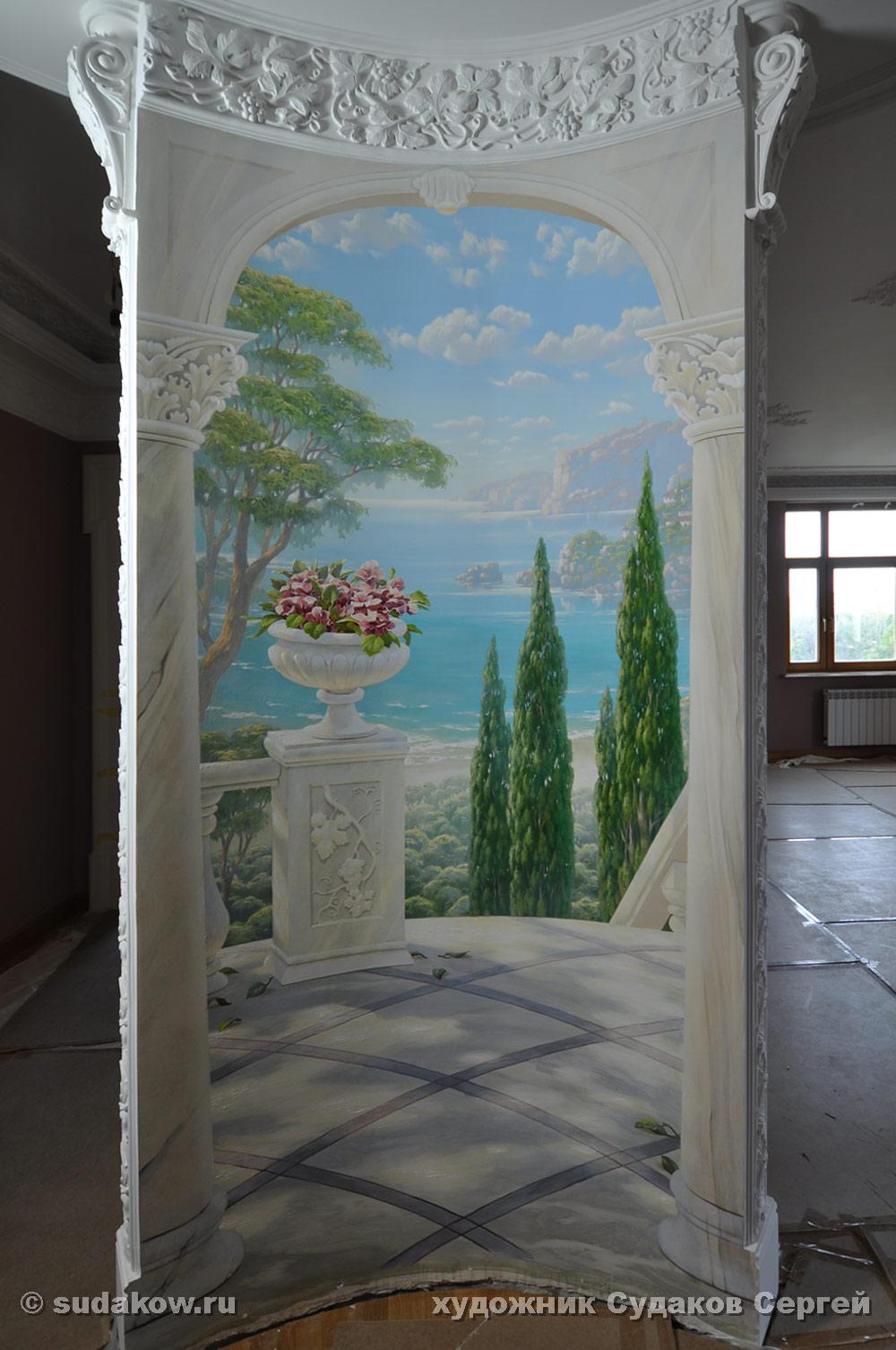 рисунки обоев для стен в прихожей