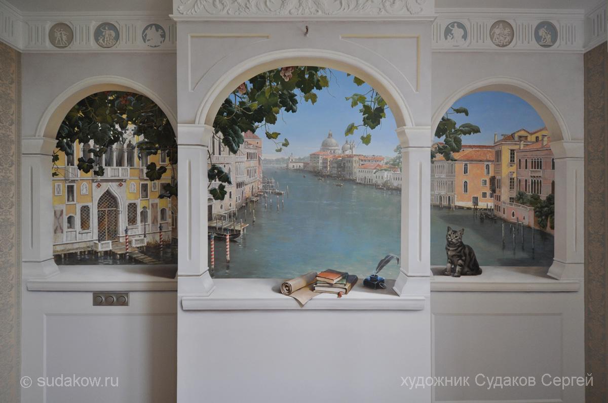 Панно окно на стену своими руками 15