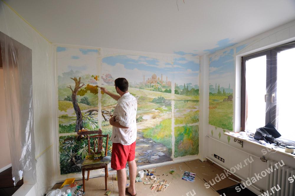 Краски для рисования на стенах на улице наливные полы на ржевке