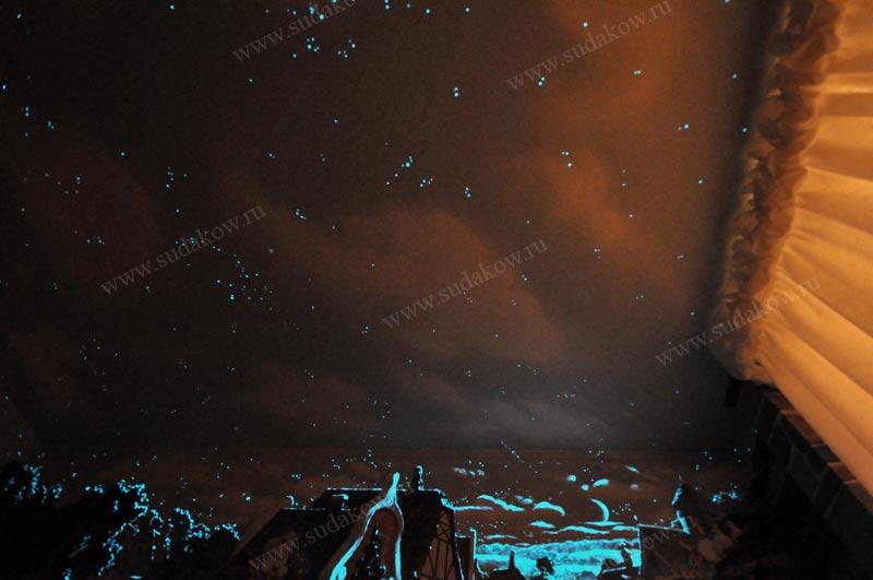 звездное небо в детскую